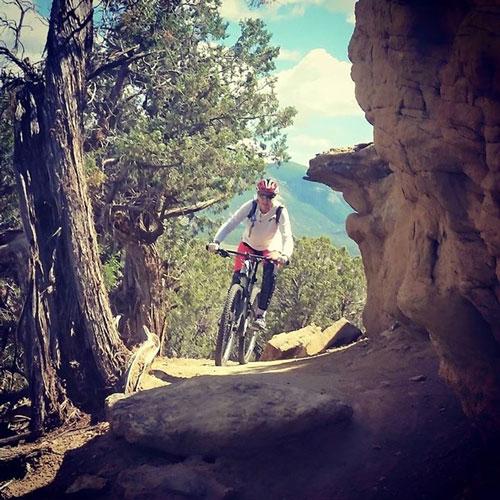 Chiropractor Scottsdale AZ Laurie Trapp Biking
